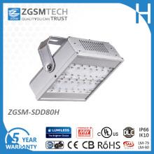 Módulo projetado 80W LED túnel luz com 5 anos de garantia