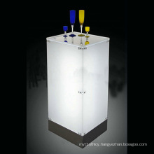 LED Acrylic Wine Tasting Display Stand