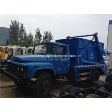 Función de volquete Camión de basura con brazo oscilante