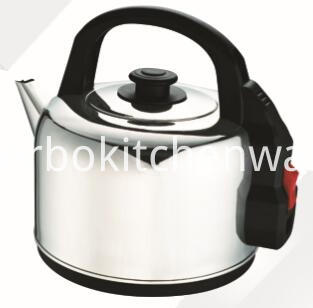 3.5L 4.7L stainless steel electric catering traditional kettle