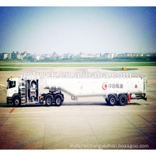 Aircraft Refueller truck or jet refuelling trailer for air port air plane refuelling with 40000L tank capacity