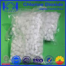 Compresor químico directo Tableta de dióxido de cloro para la planta de tratamiento de agua