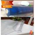 Protección de muebles PVC suave película transparente de plástico para tela de mesa