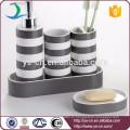 Современные круглые керамические аксессуары для ванной и кухни