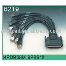 Câble SCSI68 à RJ45