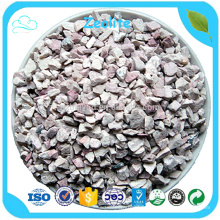 Médias naturels de filtre de zéolite de 4-6mm pour le petit traitement de ramollissement de l'eau de chaudière