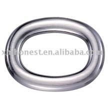 Saco oval anel