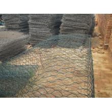 Rede de fio hexagonal / Rede de pedra
