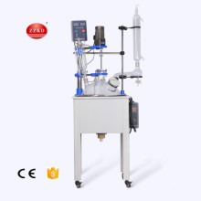 New Bio stirred tank Vacuum single glass reactor