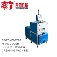 Hard Cover Book Pressning & Creasing Machines