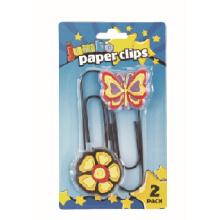 Jumbo size soft pvc paper clip set of 2