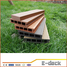 Plataforma compuesta de plástico de madera barata / cubierta compuesta de plástico extrudido / cubierta resistente a la grieta de wpc