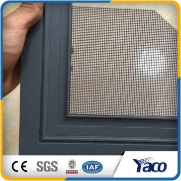 Janela de aço inoxidável de venda quente de China e tela da janela da segurança da porta