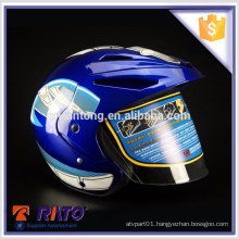 Wear-resisting stylish full-face China ABS motorcycle helmets