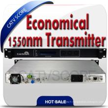 Transmetteur à fibre optique à modulation externe de 1550 nm