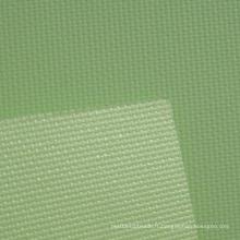 Fenêtre en fibre de verre revêtu de PVC Crème solaire Roller Blind Blackout Fabric Green Color