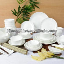 Venta caliente de cerámica para hoteles y restaurantes de hogar porcelana de cuerpo blanco