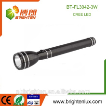 Factory Supply High Powered Handheld 3 watt Rechargeable 3SC Battery Emergency Cree XPE Best police security flashlight