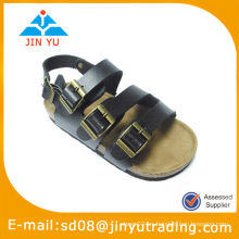 Zapatos de cuero de diseñador de la sandalia 2013