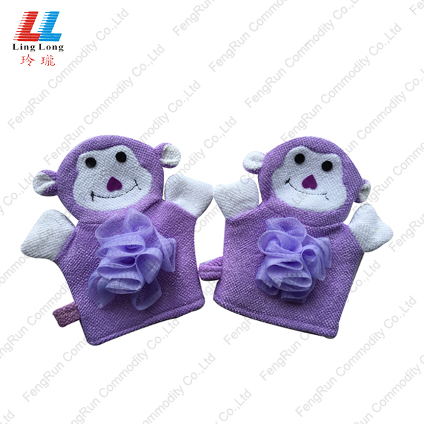 cute bath gloves