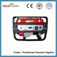 3kw электрический старт портативный генератор бензина
