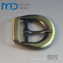 SGS Certified Antique Wire Dibujo Pin hebillas para cinturón, aparatos y bolsas