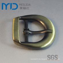 SGS Certified Antique Wire Dibujo Pin hebillas para cinturón, aparatos y bolsas