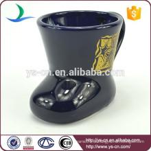 YScc0031-02 Keramischer Steinzeug-Becher In Weihnachtsfeiertag
