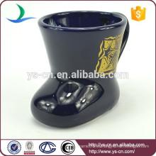 YScc0031-02 Taza de cerámica de gres en vacaciones de Navidad