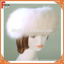 Top Qualität natürliche Fuchspelz Stirnband