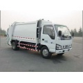 ISUZU used old compactor garbage trucks for sale