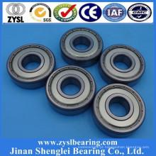 tamanho pequeno rolamento de esferas longboard rolamentos 608ZZ da China fabricante