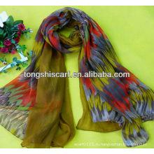 корейский мода длинный шарф для девочки