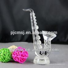 Le plus nouveau saxophone en cristal pour Decration ou cadeau