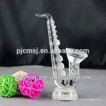 Newest Crystal Saxophone for Decration or Gift