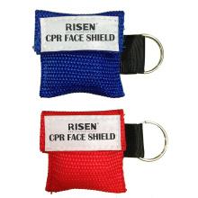 Mais vendidos porta-chaves descartáveis para máscara de RCP médico