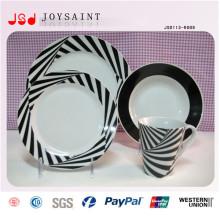 18PCS Custom Handpainted conjunto de jantar promocionais Stoneware