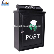 Waterproof aluminium alloy mail box outdoor house
