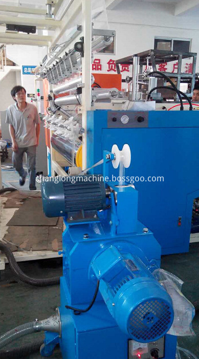 winding stretch film machine