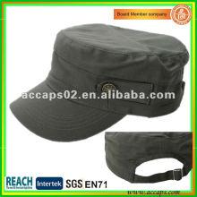 2012 neue Art und Weisebaumwollmilitärartkappe Shenzhen MC-1292