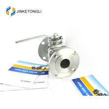 JKTLFB042 wcb a216 2pc ressort retour ss316 globe ball valve