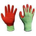 Красочные перчатки латекс с покрытием (LPS3031)