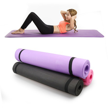 Tapete de ioga de espessura antiderrapante