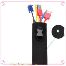 Neoprene Zipper Cable Management Sleeves with Buckles