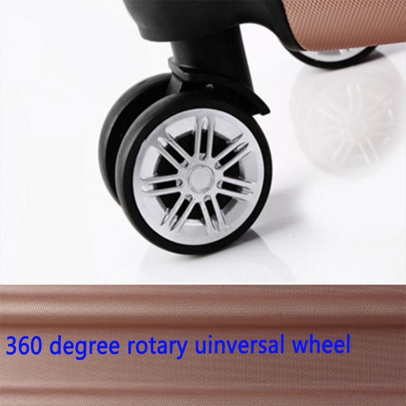 360 degree wheel luggage