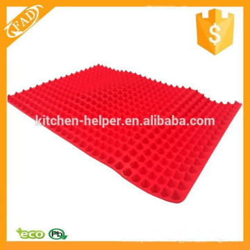 Dishwasher Safe Reusable Pyramid Silicone Baking Pastry Cooking Oven Mat