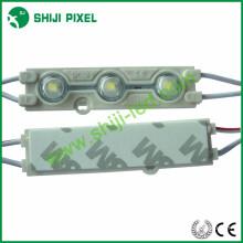 Завод Оптовая открытый IP66 водонепроницаемый один цвет DC12V 0.72 Вт Сид epistar 5050 инъекций светодиодный модуль с объективом