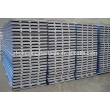 Tôles de toiture en acier ondulé galvanisé à vente chaude