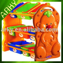 Plastic Toy - Cartoon Plastic Shelf For Kindergarten