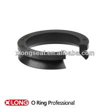 Sello de anillo de forma de goma v forma personalizada estilo único
